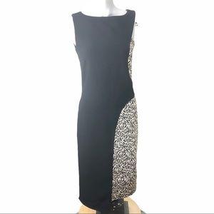 Rinascimento Bodycon dress leopard print size Sm.